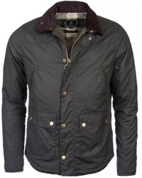 Barbour Wax Reelin Jacket - Zwart