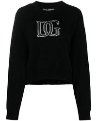 Dolce & Gabbana Lap Jersey - Zwart