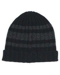 Hartford Bonnet Rib Hat - Noir