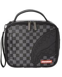 Sprayground Henney Checkered Handbag - Schwarz