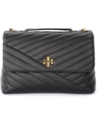 Tory Burch Kira Chevron Bag - Zwart