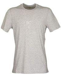 Brunello Cucinelli Korte T-shirt - Grijs