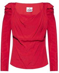 Vivienne Westwood Long-sleeve top - Rouge