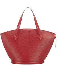 Louis Vuitton Epi saint jacques pm correa corta de cuero - Rojo