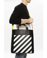 Off-White c/o Virgil Abloh Shopper bag Negro
