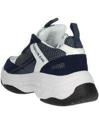 Calvin Klein B4S0133 Sneakers bassa Blanco - Azul