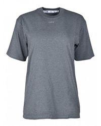 Off-White c/o Virgil Abloh - T-shirt Met Pijl - Lyst
