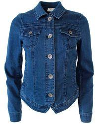 2-Biz Giacca di jeans Anne - Blu