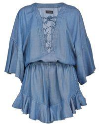 Pinko Playsuit - Blauw
