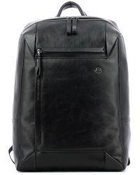 Piquadro Pan 14.0 laptop backpack - Schwarz