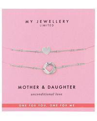 My Jewellery Ketting Mother & Daughter - Grijs