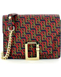 Roberta Di Camerino Small Shoulder Bag With Logo - Rood