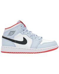 Nike Sneakers Air Jordan 1 Mid - Blauw