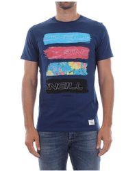 O'neill Sportswear - 8a2359 Photo Filler T Shirt And Tank Men Blue - Lyst