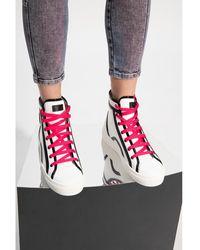 Furla Binding sneakers with logo - Blanc