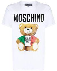 Moschino T-shirt - Blanc
