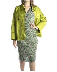 N°21 Coat Verde