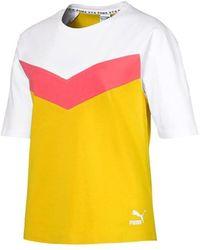 PUMA Camiseta XTG Colorblock - Giallo