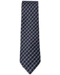 Lanvin Silk Tie - Bleu
