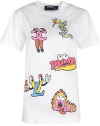 DOMREBEL T-shirt Luxury Box T - Wit