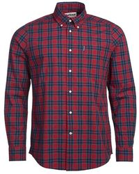 Barbour Highland Geruit Overhemd - Rood