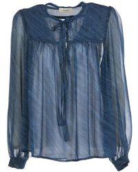 ViCOLO Blouse - Blauw