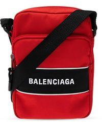 Balenciaga Schoudertas Met Logo - Rood