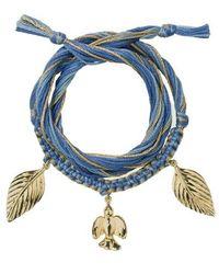 Aurelie Bidermann Honolulu Bracelet - Blauw