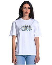 Karl Lagerfeld T-shirt - Wit