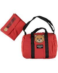 Moschino Teddy Bear Changing Bag - Rood