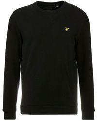 Lyle & Scott Crew Neck Sweatshirt - Zwart