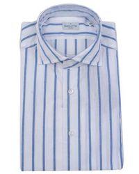 Bagutta Shirt - Blau