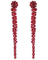 Simone Rocha Glass Earrings - Rood
