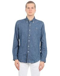 Polo Ralph Lauren Shirts Denim - Blauw