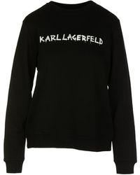 Karl Lagerfeld Sweater - Zwart