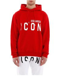 DSquared² Icon Hoodie - Rood