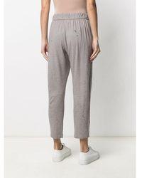 Raquel Allegra Cropped Pants - Gris