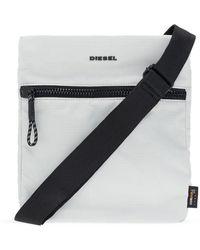 DIESEL Branded shoulder bag - Grau