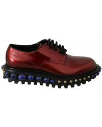 Dolce & Gabbana Studded Shoes - Rood