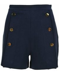 See By Chloé Shorts Chs21ajs01100 - Blauw