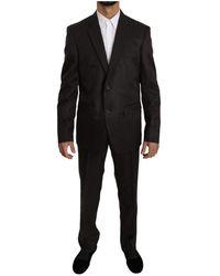 Dolce & Gabbana - Slim Fit 2 Piece Wol Zijde Suit - Lyst