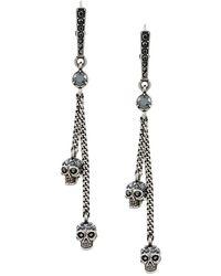 Alexander McQueen Earrings - Grijs