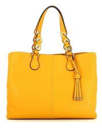 Liu Jo Shoulder Bag With Tassel - Geel