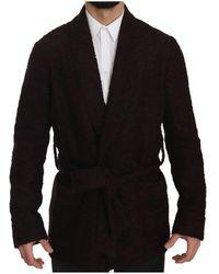 Dolce & Gabbana - Robe Coat Wrap Jacket - Lyst