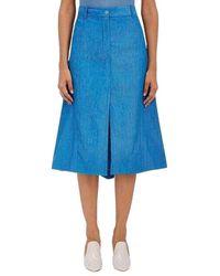 Nina Ricci A-Line Skirt - Blu
