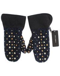 Dolce & Gabbana Guanti Leopard - Grigio