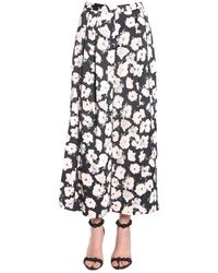 Proenza Schouler Wide Leg Trousers - Zwart