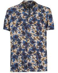 Yes-Zee C701-ui00 Casual Shirt - Blauw