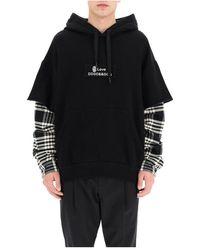 Dolce & Gabbana Hooded Sweater - Zwart