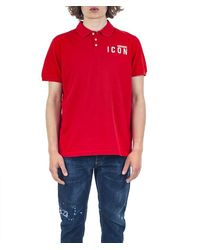 DSquared² Polo Icon - Rood